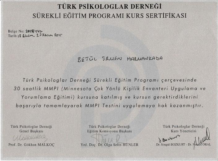 Türk-Psikologlar-Derneği-MMPI-Uygulayıcı-Sertifikası