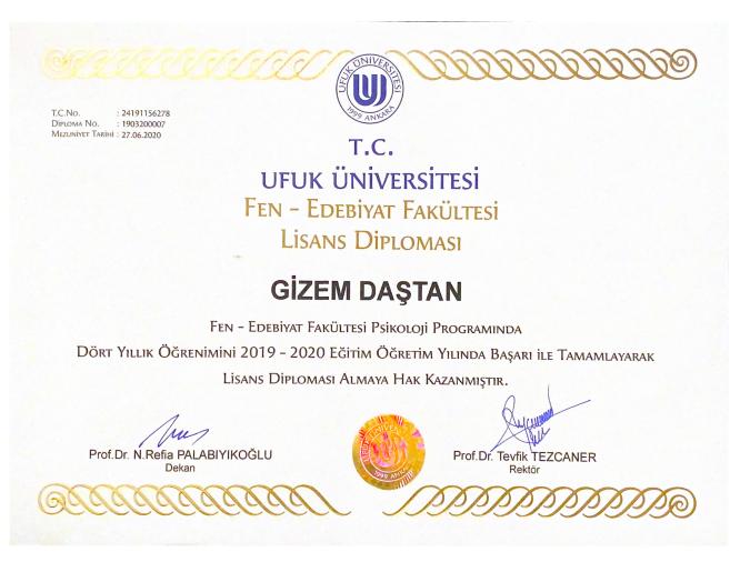 Universite Diploması