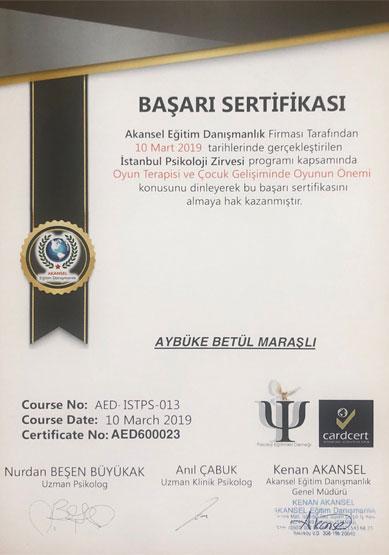 aybüke-betül-maraşlı-oyun-terapisi-sertifikası