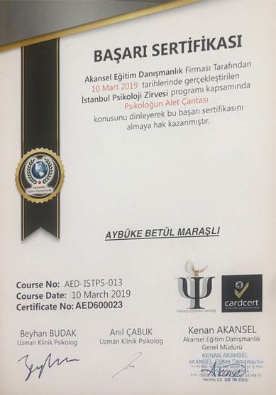 aybüke-betül-maraşlı-psikoloğun-alet-çantası-sertifikası