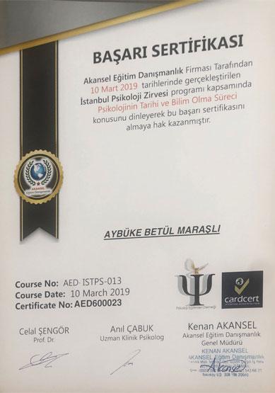 aybüke-betül-maraşlı-psikolojinin-tarihi-sertifikası