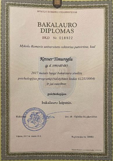 kevser-timuroğlu-lisans-diploması