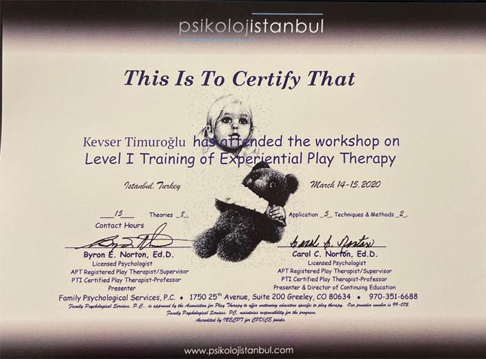 kevser-timuroğlu-oyun-terapisi-sertifikası
