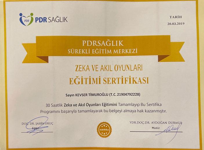 kevser-timuroğlu-zeka-ve-akıl-oyunları-sertifikası